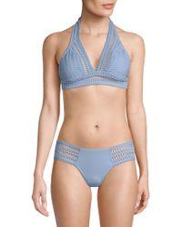 Robin Piccone - Sophia Halter Bikini Top - Lyst
