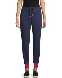 Tommy Hilfiger Colorblock Jogger Trousers - Blue