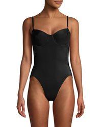 Norma Kamali Underwire Mio One-piece Swimsuit - Black