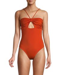 Johanna Ortiz Tormenta De Arena One-piece Swimsuit - Red