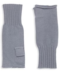 Portolano Knitted Merino Wool Gloves - Multicolour