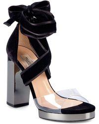 Valentino - Strap Heel Sandals - Lyst