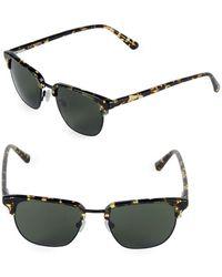 Zac Posen - Filip 49mm Clubmaster Sunglasses - Lyst
