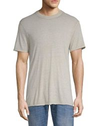 ELEVEN PARIS - Nathan Short-sleeve Heathered Tee - Lyst