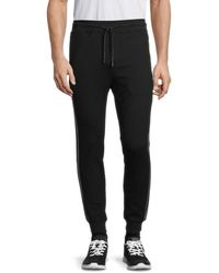 Karl Lagerfeld Men's Logo Jogger Trousers - White - Size Xxl