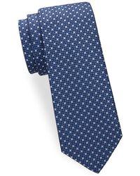 Saks Fifth Avenue - Two Tone Dot Silk Tie - Lyst