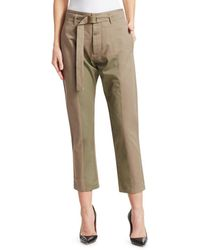 Tre by Natalie Ratabesi Roma Trousers - Natural