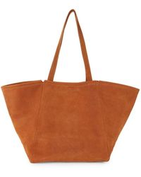 Madewell Women's Leather Tote - Pinot Noir - Brown