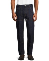Helmut Lang Tapered Utility Jeans - Blue