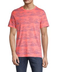 Sovereign Code Conway Big Wave T-shirt - Pink