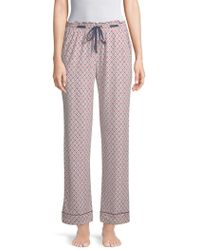 Jane And Bleecker - Printed Pyjama Trousers - Lyst
