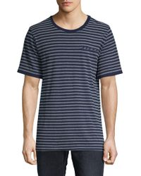 Sovereign Code - Bronk Striped Cotton Tee - Lyst