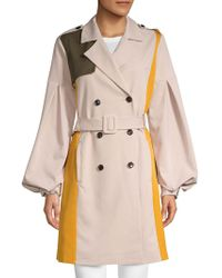 Endless Rose - Balloon-sleeve Double-breasted Coat - Lyst
