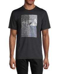 Karl Lagerfeld Men's Logo Short-sleeve T-shirt - Black - Size Xxl