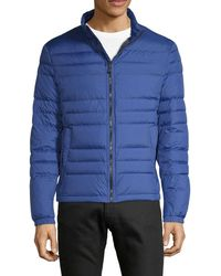 HUGO Classic Quilted Jacket - Blue