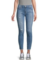 Siwy Sara Distressed Skinny Jeans - Blue