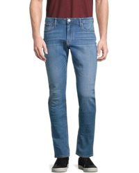 Armani Jeans Men's Slim-fit Jeans - Blue - Size 36