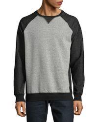 Civil Society - Heathered Colorblock Sweatshirt - Lyst