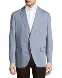 Kroon - Taylor Solid Cotton & Linen Sportcoat - Lyst