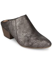 BCBGeneration - Lori Metallic Slip-on Mules - Lyst