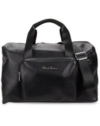Robert Graham Vashem Leather Duffel Bag - Black
