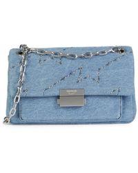 Zadig & Voltaire Women's Ziggy Chain-strap Denim Bag - Denim - Blue