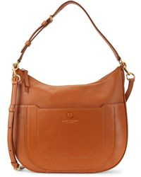 Marc Jacobs Empire City Zipper Leather Hobo - Multicolour
