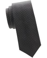 Valentino - Dotted Silk Tie - Lyst