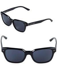 Giorgio Armani - 53mm Square Sunglasses - Lyst