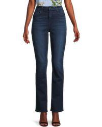 L'Agence Women's Oriana High-rise Straight Jeans - Bleu Jay - Size 24 (0) - Blue