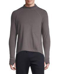 Siki Im Mockneck Gym Shirt - Black
