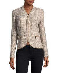 ESCADA - Printed Zipper Jacket - Lyst