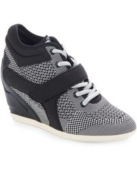 Ash Bebop Wedge Sneakers - Black