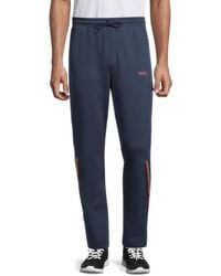BOSS by Hugo Boss Men's Halko Track Trousers - Navy - Size S - Blue