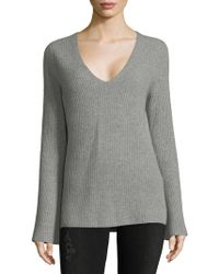 Saks Fifth Avenue - Flare-sleeve Cashmere Sweater - Lyst