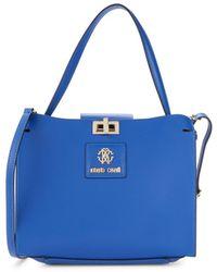 Roberto Cavalli Women's 2-piece Crossbody Bag & Pouch Set - Blue