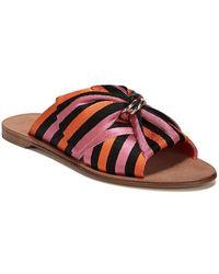 Diane von Furstenberg Bella (orange/black/rose Ribbon) Shoes - Red