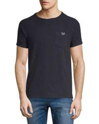 Scotch & Soda - Tonal Fern Roundneck T-shirt - Lyst