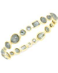 Ippolita - 18k Gold & Hematite Bangle Bracelet - Lyst