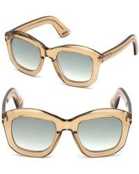 Tom Ford - Julia Square Sunglasses - Lyst
