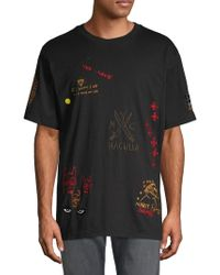 Haculla Luxe Punk Cotton Tee - Black