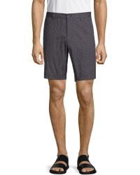 Saks Fifth Avenue - Textured Stretch Shorts - Lyst
