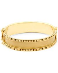 Temple St. Clair - Yellow Gold Granulated Bracelet - Lyst