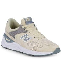 New Balance Suede Womens X90 Sneakers Lyst