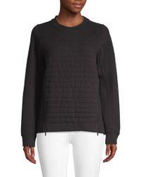 lululemon athletica Quilted Sweatshirt - Black