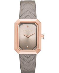 Karl Lagerfeld Klassic Linda Leather Watch - Multicolour