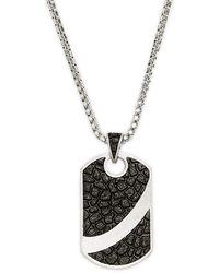 Effy Sterling Silver Pendant Necklace - Multicolor