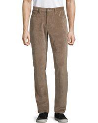 Saks Fifth Avenue Classic Corduroy Pants - Natural