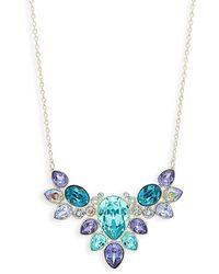 Swarovski Crystal Pendant Necklace - Multicolour