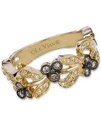 Le Vian - 14k Honey Gold Vanilla Diamonds & Chocolate Diamonds Chocolatier Vine Ring - Lyst
